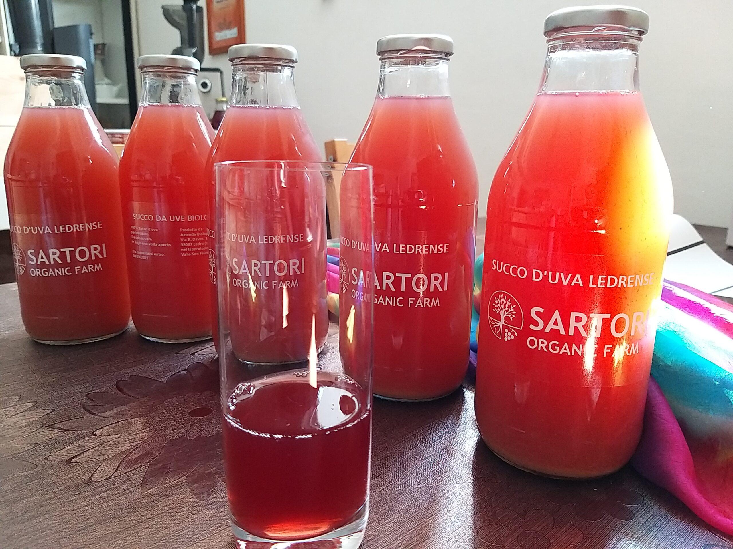 Wines And Juice Sartori Organic Farm